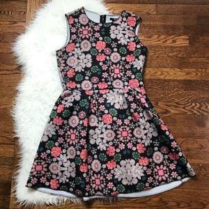 2/$25 H&M Floral Sleeveless Mini Dress